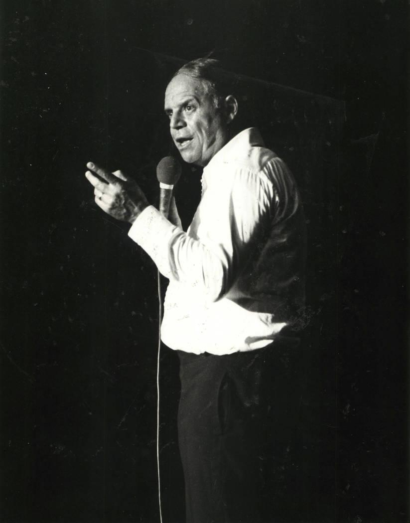 Don Rickles, March 23, 1983. (Las Vegas News Bureau)
