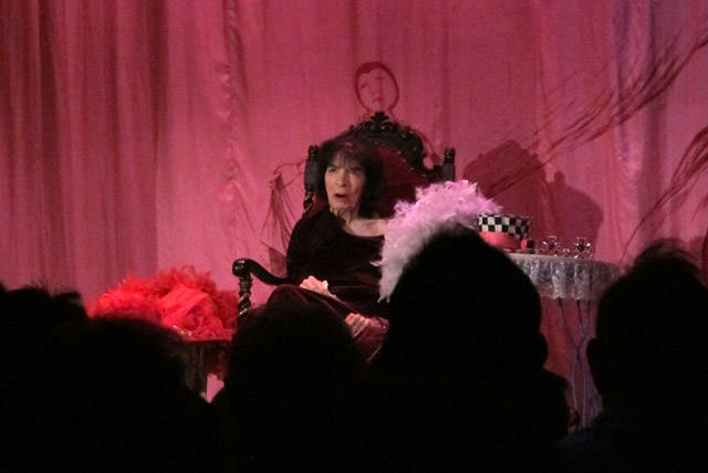 Marta Becket performed her last show at the Amargosa Opera House at Death Valley Junction on Feb. 12, 2012. (Amargosa Opera House)