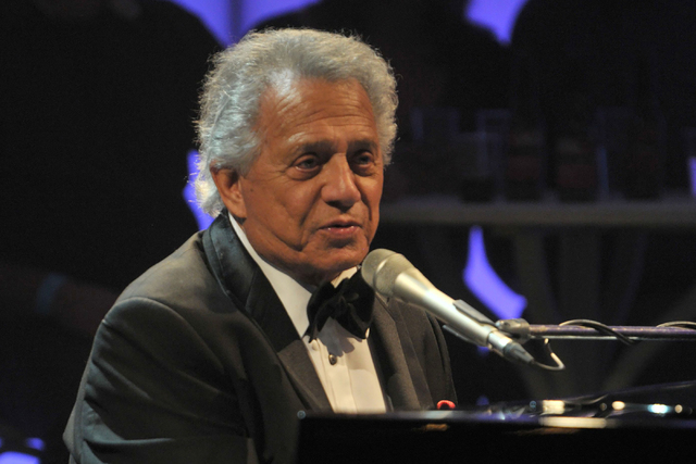 """Buddy Greco performs on """"Later With Jools Holland"""" in October 2011. (Rex Features via AP Images)"""