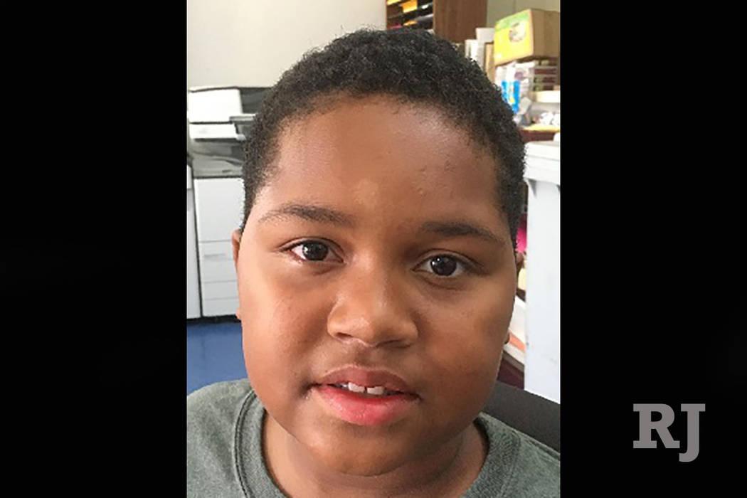 Deontre Coleman, 11 (North Las Vegas Police Department)