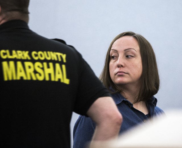 Kirstin Lobato, who has long claimed her innocence in a 2001 killing, appears in Regional Justice Center on Wednesday Jan. 04, 2017. The Innocence Project has agreed to take her case. Jeff Scheid/ ...