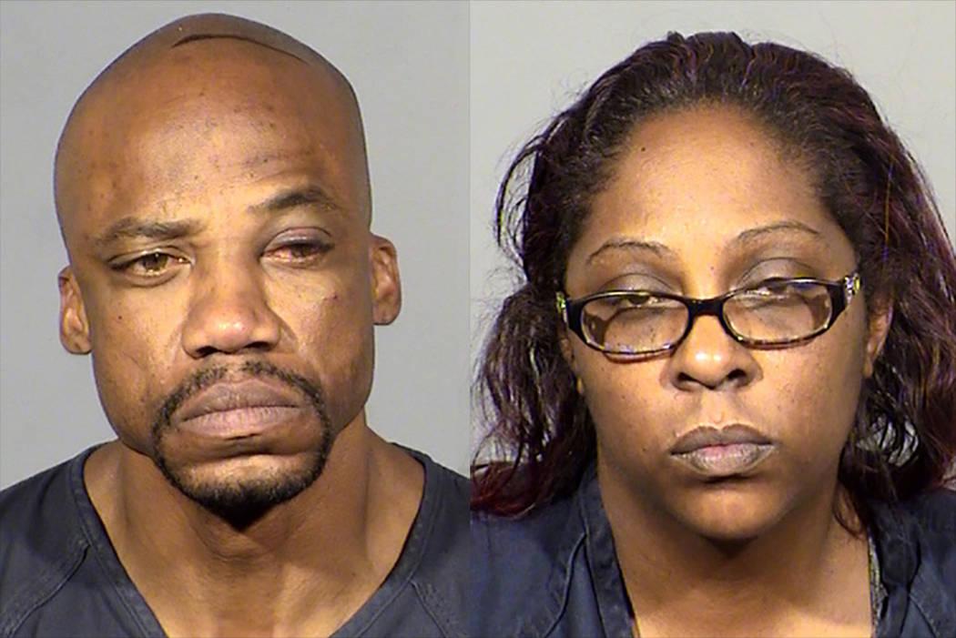 Clarence Wilson and Jawanna Chapman-Doucett (Las Vegas Metropolitan Police Department)Clarence Wilson and Jawanna Chapman-Doucett (Las Vegas Metropolitan Police Department)