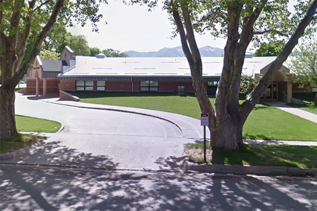 Lincoln Elementary School in Hyrum, Utah (Screengrab, Google maps)