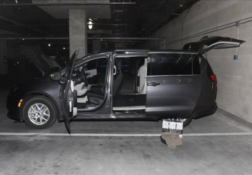 Stephen Paddock's vehicle. LVMPD.