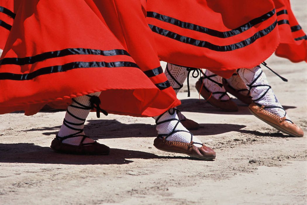 Elko also has a long connection to the Basque shepherd culture of northern Spain, and for more than a century it has played host each July to the National Basque Festival. (Courtesy Elko Conventio ...