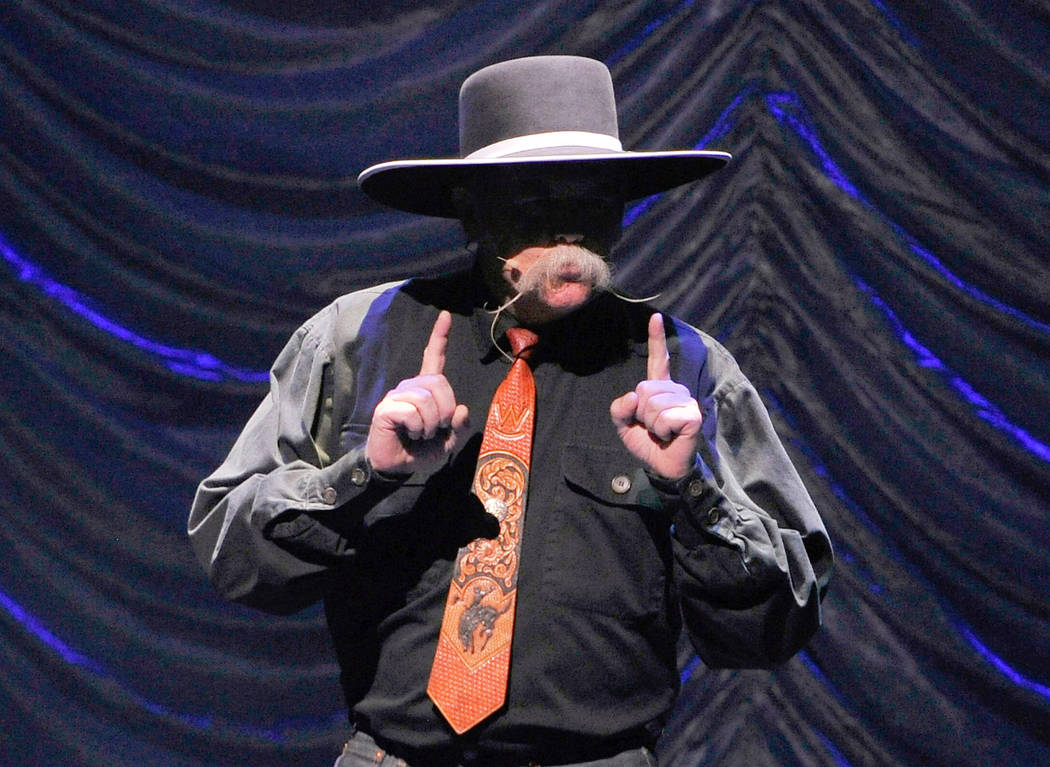 The 31st annual National Cowboy Poetry Gathering, a weeklong celebration of Western life, gets underway Monday in Elko. (Photo by David Becker/Las Vegas Review-Journal)