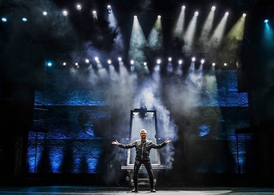 Magician Joe Labero performs during a walk through for the new show Inferno on Thursday, January 18, 2018, at Paris hotel-casino, in Las Vegas. Benjamin Hager Las Vegas Review-Journal @benjaminhphoto