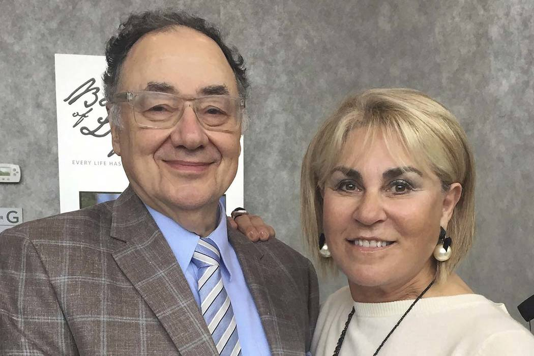 In this Oct. 15, 2017 photo provided by the United Jewish Appeal via Canadian Press, Barry and Honey Sherman pose for a photo in Toronto, Canada. The Canadian billionaire businessman and his wife  ...