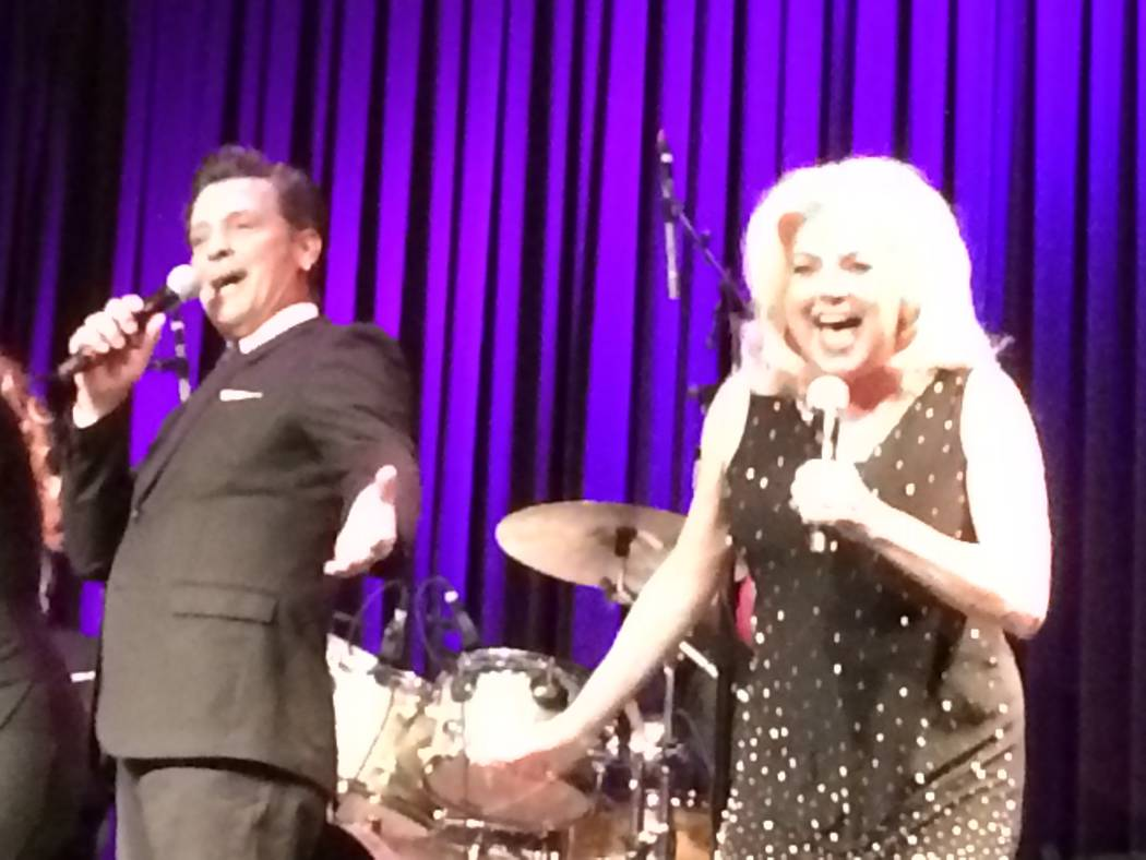Robert Torti and his wife, DeLee Lively-Torti, both veterans of the Great White Way perform together Jan. 14, 2018, in Brunch to Broadway at Red Rock Resort. The 50-minute show features Las Vegas  ...