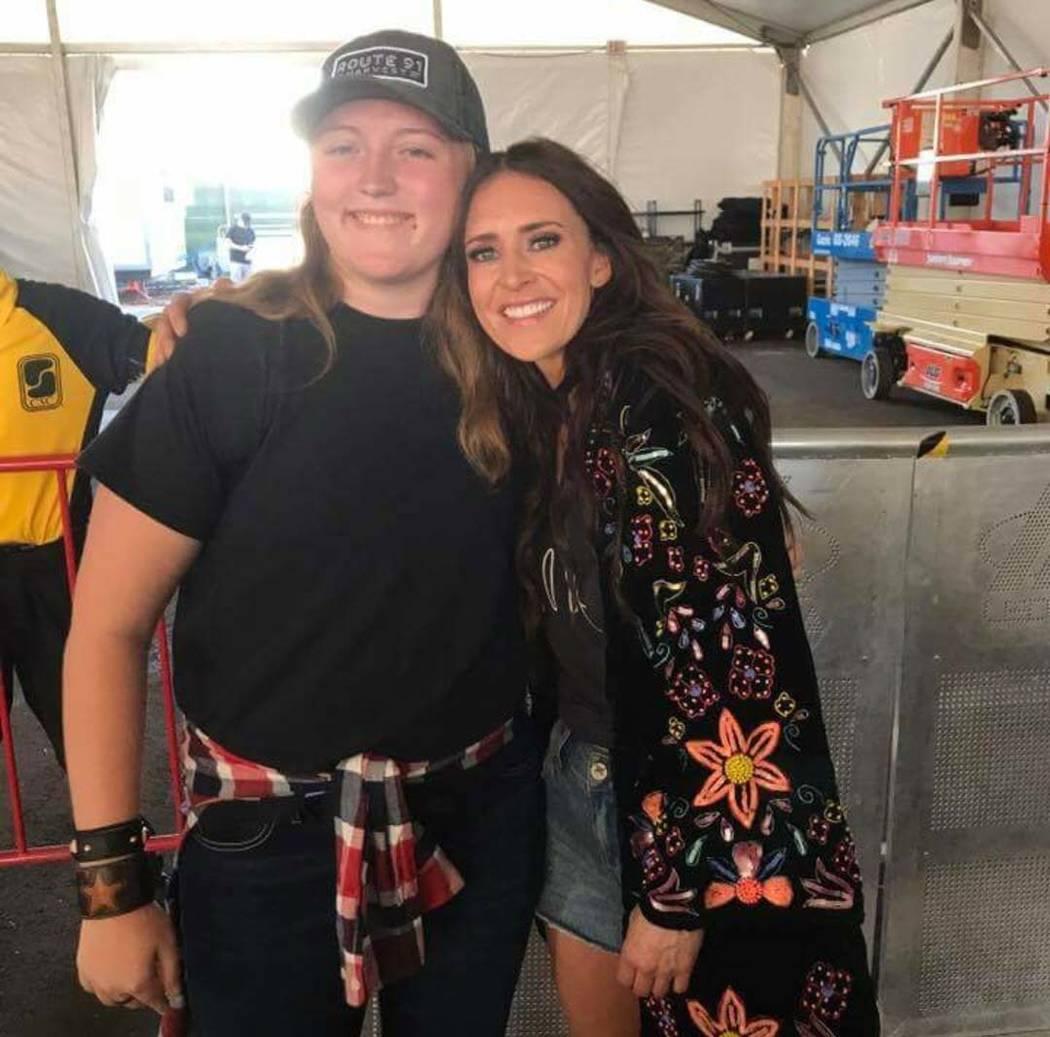 Cody Jones and a friend (Facebook)