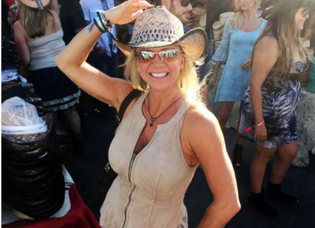 Lisa Fine, co-founder of Route91Strong, attended all three nights of the Route 91 Harvest Music Festival in Las Vegas. Lisa Fine