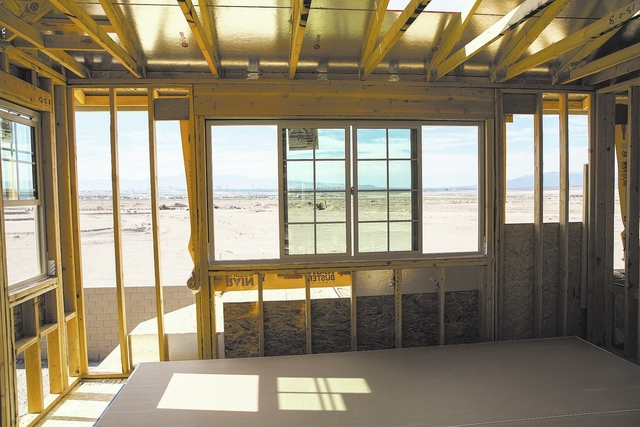 Construction at Cadence in Henderson continues as the Las Vegas housing market heats up. (RJRealEstate.Vegas file photo)