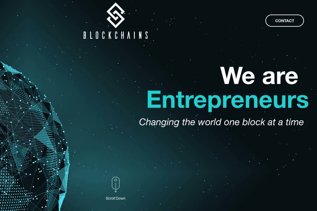 Blockchains. (Screenshot/Blockchains)