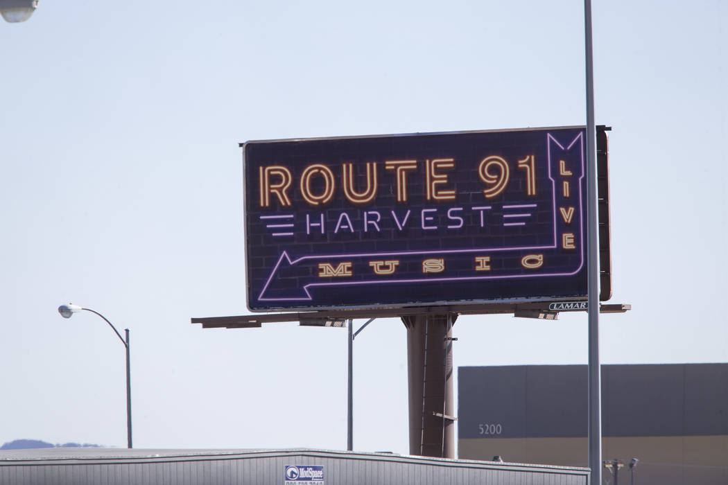 Scene's from day after the Route 91 Harvest shooting in Las Vegas October 2, 2017. Richard Brian/Las Vegas Review-Journal