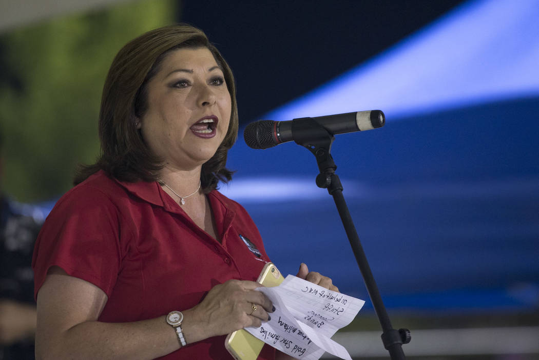 An ethics complaint against Henderson City Councilwoman Gerri Schroder was dismissed this week. Richard Brian Las Vegas Review-Journal