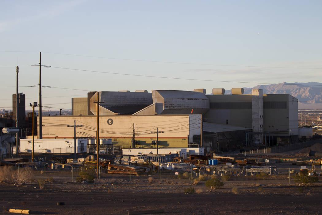 The TIMET plant, 181 N. Water St., in Henderson, Friday, Jan. 26, 2018. An explosion rocked the TIMET plant Wednesday, Jan. 24. Erik Verduzco Las Vegas Review-Journal @Erik_Verduzco