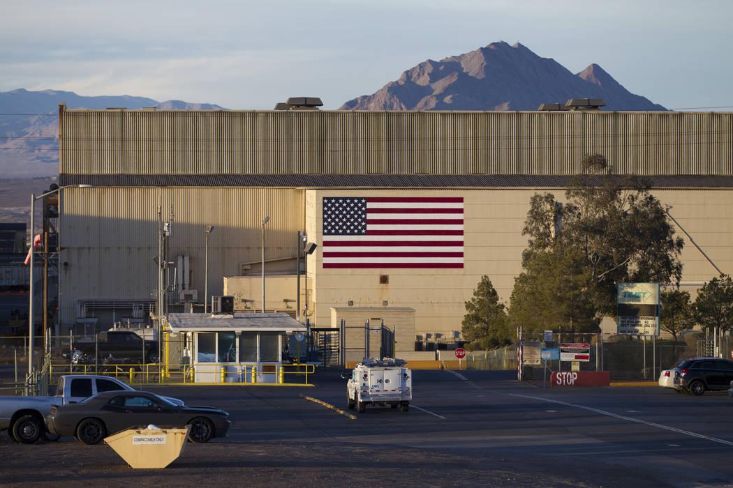The TIMET plant, 181 N. Water St., in Henderson, Friday, Jan. 26, 2018. An explosion rocked the TIMET plant, Wednesday, Jan. 24. Erik Verduzco Las Vegas Review-Journal @Erik_Verduzco