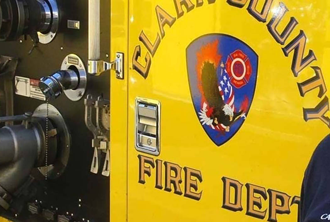 Man dies trying to save family pets in east Las Vegas fire