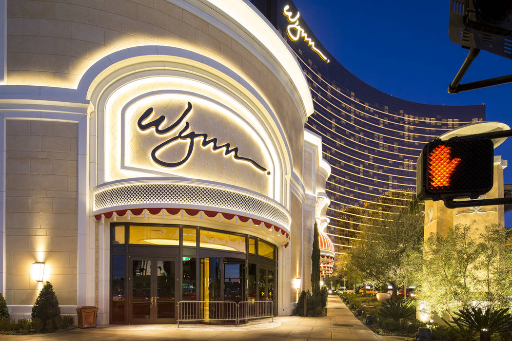 Wynn Las Vegas on the Vegas Strip on Saturday, January 27, 2018. Richard Brian Las Vegas Review-Journal @vegasphotograph