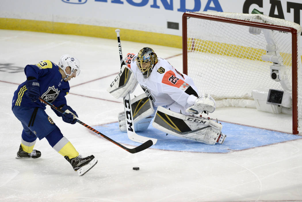 info for 9d8c3 4c457 Golden Knights' duo helps Pacific to win at NHL All-Star ...