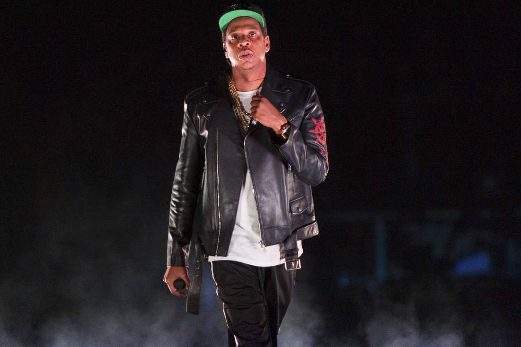 Jay-Z performs on the 4:44 Tour at Barclays Center in New York, Nov. 26, 2017. The rapper was nominated for eight Grammy nominations on Tuesday, Nov. 28. Four of the five album of the year nominee ...