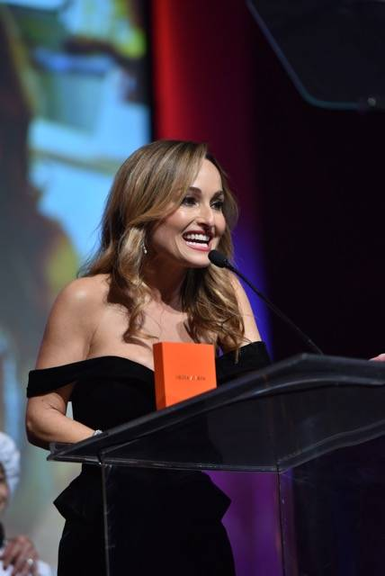 Star chef Giada De Laurentiis is shown at the Nevada Ballet Theatre's Black and White Gala at Wynn Las Vegas on Saturday, Jan. 27, 2018. (Cashman Photography)