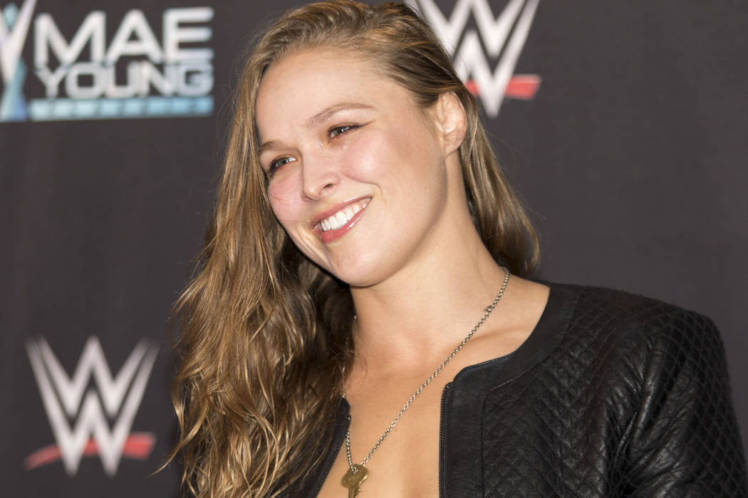 Ronda Rousey makes WWE debut, expected at Wrestlemania 34