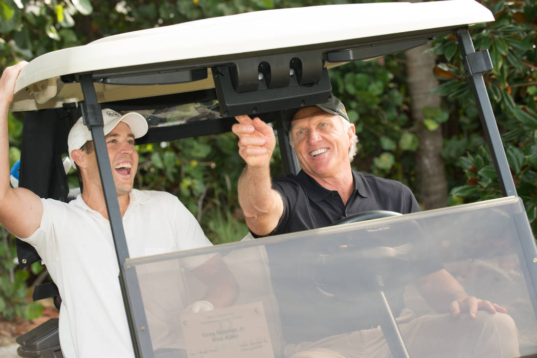 Greg Norman, the 1986 Las Vegas Invitational champion, recently launched Shark Experience, a new software technology that could help invigorate the golf industry. Photo: Montana Pritchard.