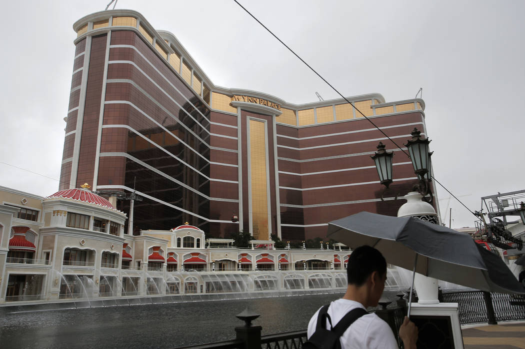 Wynn stock falls after allegations