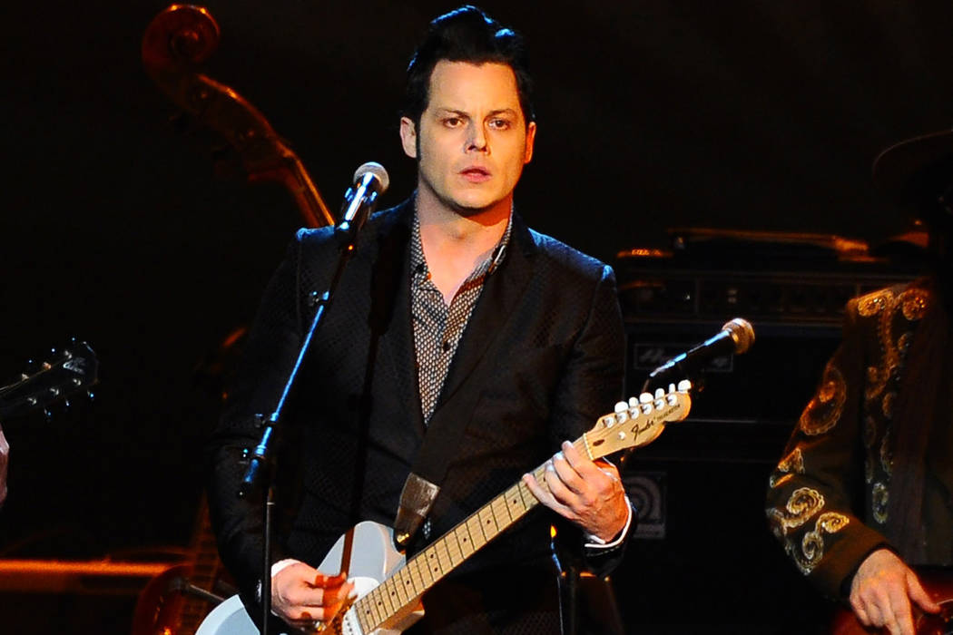 Jack White performs at the 2015 MusiCares Person of the Year show at the Los Angeles Convention Center in Los Angeles. Vince Bucci/Invision/AP