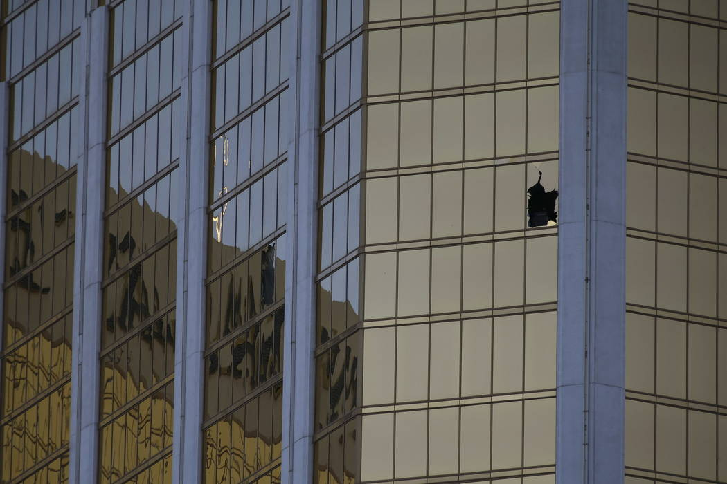 Scene's from day after the Route 91 Harvest shooting in Las Vegas October 2, 2017. Richard Brian Las Vegas Review-Journal