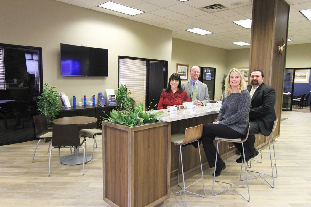 Valley Bank of Nevada turned a sales office in Henderson into a full-service branch. (Imagine Communications)