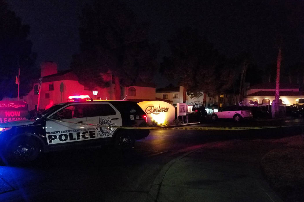man, 25, fatally shot in western las vegas apartment complex – las