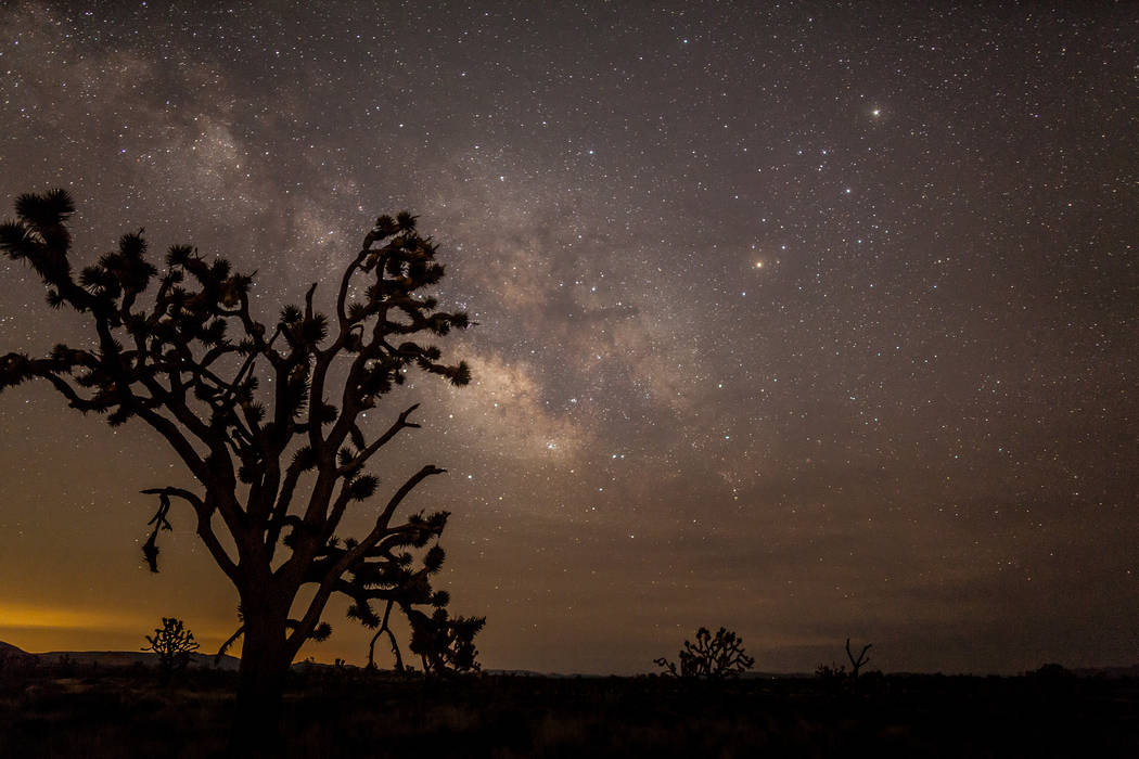 Greg McKay, a Henderson resident and a member of the Las Vegas Astronomical Society, said Mojave National Preserve in California has some of the best dark skies for stargazing. (Photo by Greg McKay)