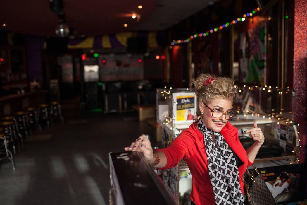 Former Playboy Playmate Corinna Harney-Jones, 45, makes an appearance during the Alibi Las Vegas in Las Vegas, Saturday, Dec. 30, 2017. Joel Angel Juarez Las Vegas Review-Journal @jajuarezphoto