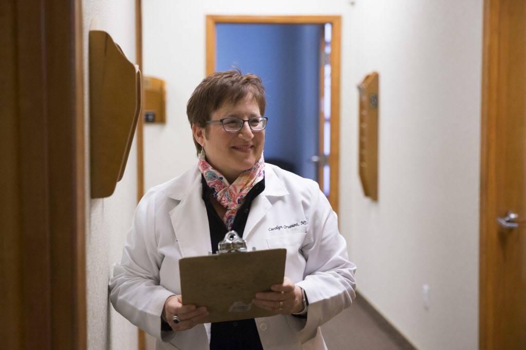Dr. Carolyn Cruvant at Shepherd Eye Center in Las Vegas, Friday, Dec. 29, 2017. Erik Verduzco/Las Vegas Review-Journal