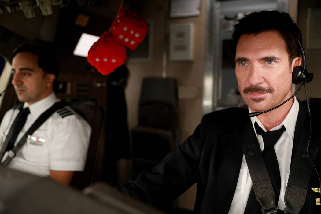 """LA TO VEGAS: L-R: Amir Talai and Dylan McDermott in the """"The Yips And The Dead"""" episode of LA TO VEGAS airing TUESDAY, Jan. 9 (9:00-9:30 PM ET/PT) on FOX. CR: FOX"""