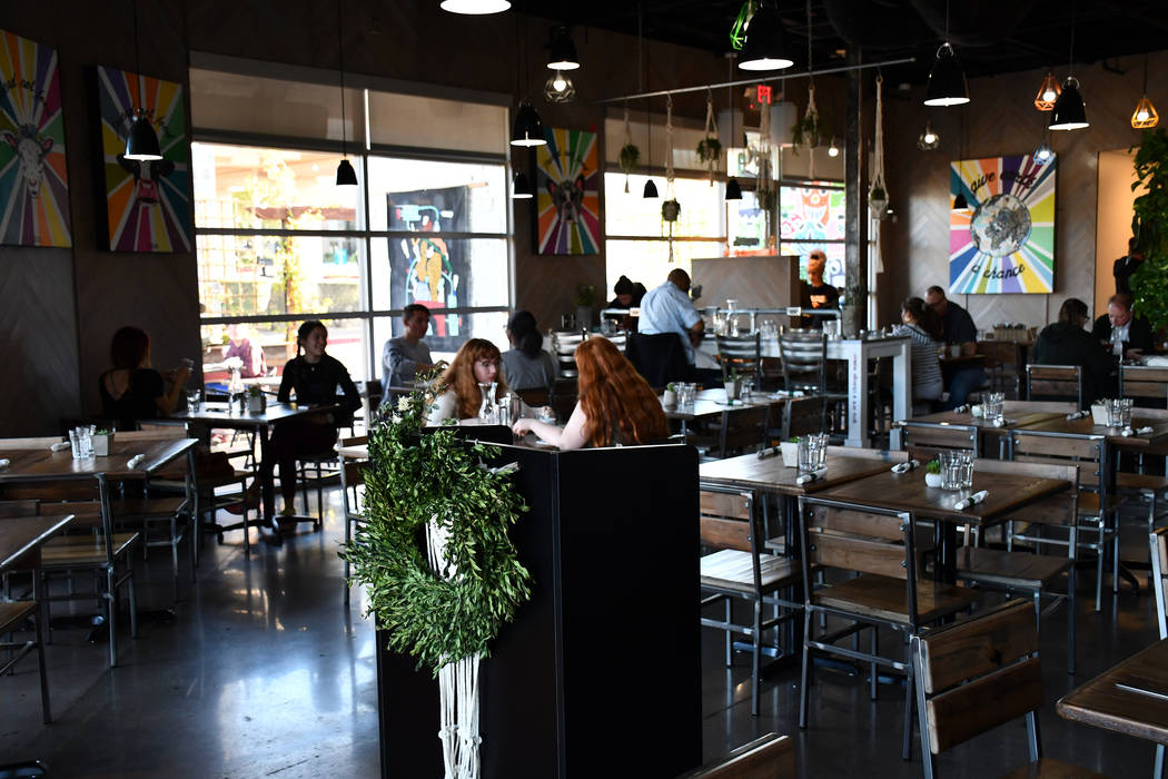 VegeNation, the plant-based restaurant opened its second location in August, but has already gained a loyal base of customers in Henderson. The location at 10075 S. Eastern Avenue restaurant offer ...