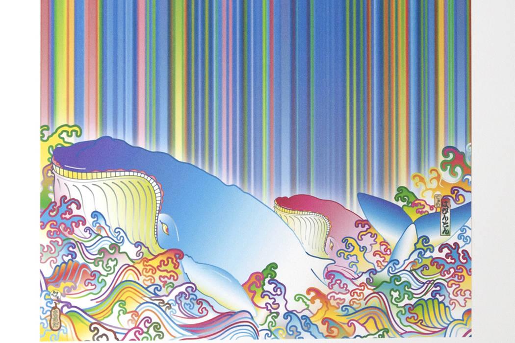 Sush Machida and Tim Bavington print