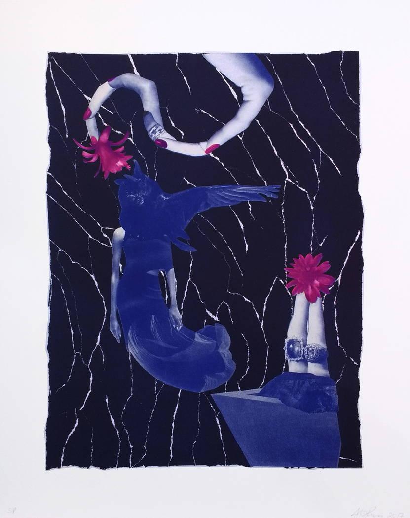 "Artist JK Russ' ""Night Flight,"" part of the limited-edition Art Museum at Symphony Park portfolio"