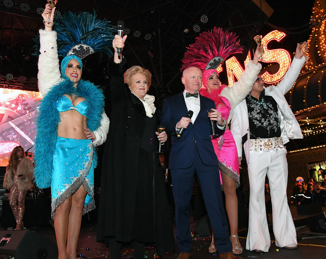 """""""America's Party 2018,"""" the fireworks and entertainment extravaganza, rang in the New Year in classic Las Vegas style. In downtown Las Vegas at the Fremont Street Experience, party-goers saw ..."""