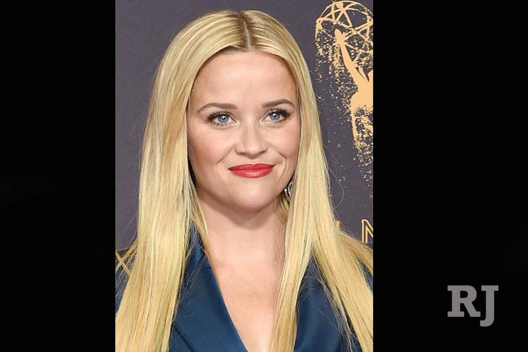 Reese Witherspoon at the 69th Primetime Emmy Awards in Los Angeles. Witherspoon, Rhimes and Aniston are among hundreds of Hollywood women who have formed an anti-harassment coalition called Time's ...