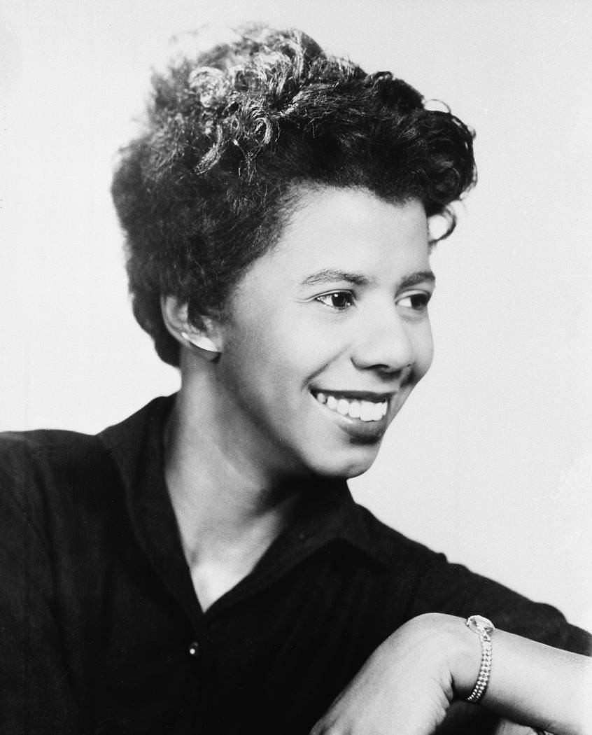 "Lorraine Vivian Hansberry, writer and equal rights activist, is shown on May 5, 1959.  Hansberry's play ""A Raisin in the Sun,"" the first drama by a black woman to be produced on  ..."