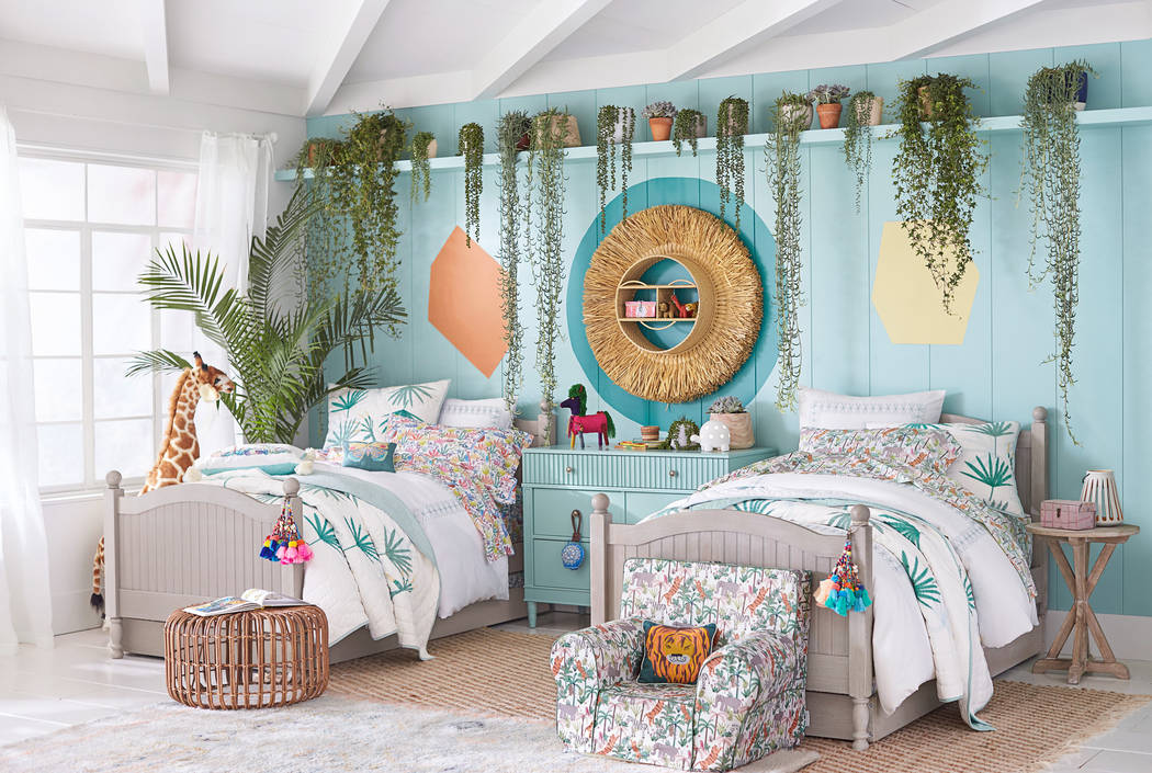 Shadow The Jungalino Bedroom, Designed By Justina Blakeney For Pottery Barn  Kids, Really Wows