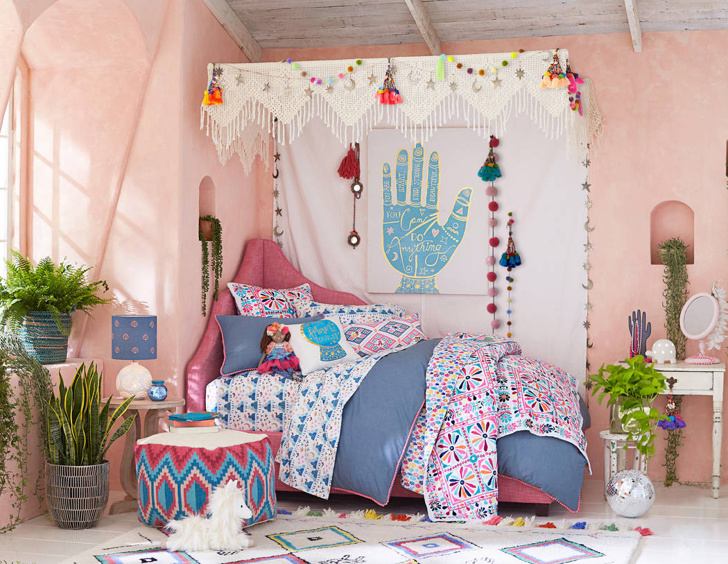 Shadow Magic Disco Caravan Bedroom, Designed By Justina Blakeney For  Pottery Barn Kids, Is
