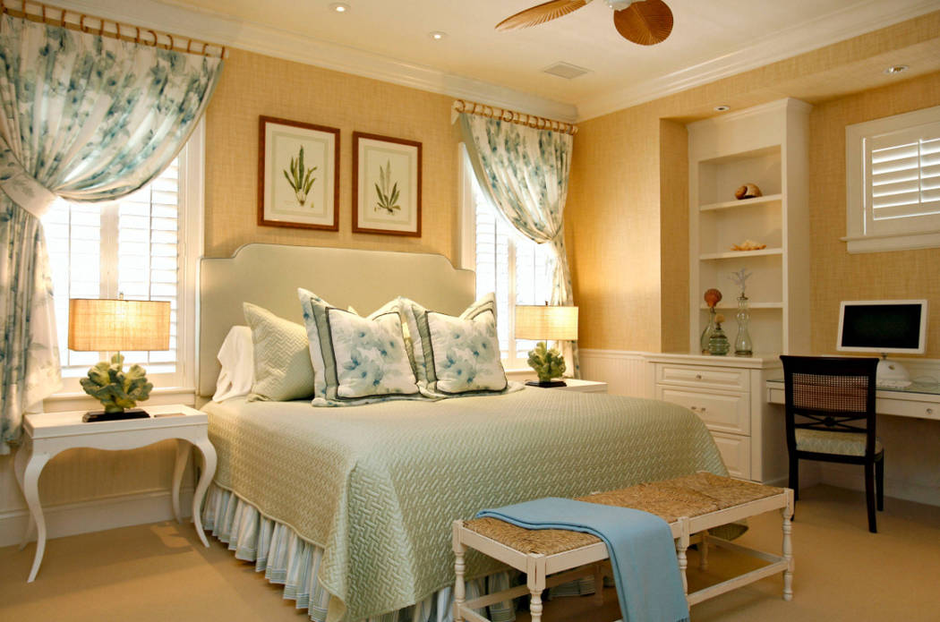 "Houzz Keep in mind, bedrooms don't have to have just ""bedroom"" furniture -- just something to sleep on, of course."