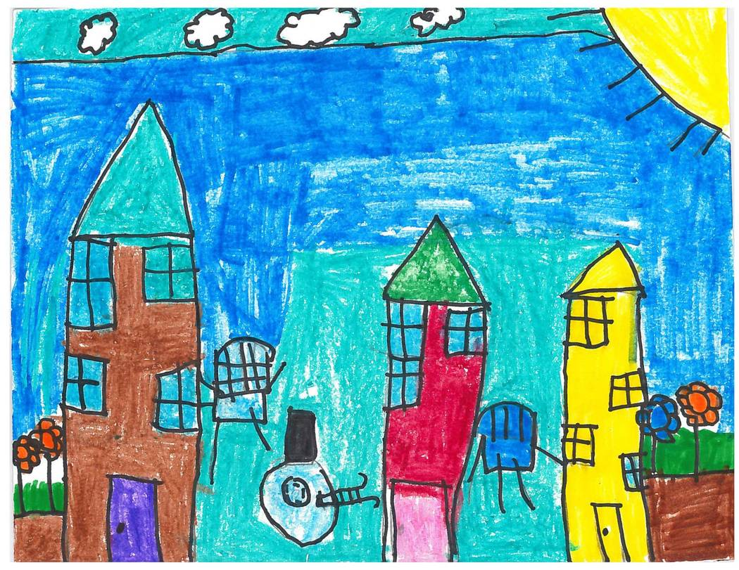 Second Place-Jayleen Delgado, Ronzone ES, 2nd grade.