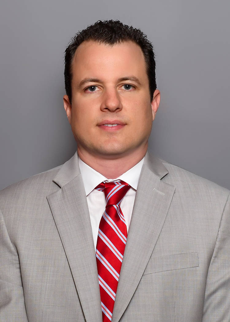 New Mexico basketball coach Paul Weir. Photo courtesy of University of New Mexico athletics.