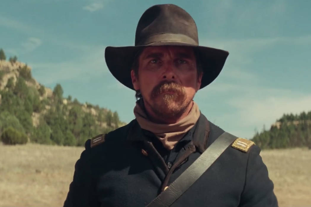 """Christian Bale in """"Hostiles."""" YouTube"""
