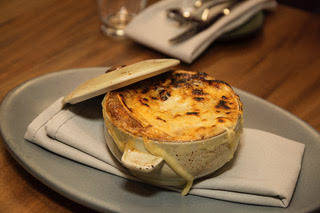 French Onion Soup, carmelized onions, Gruyere cheese, toasted crostini, veal broth